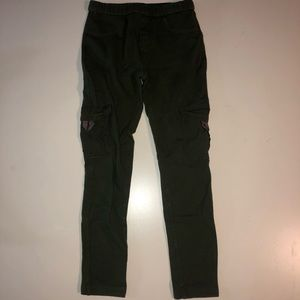 Girls Chaps Cargo Leggings